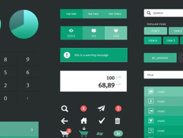 Inspiration Mobile #13 : Ui Kits et Wireframes pour vos applications