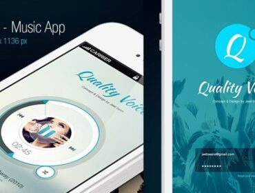 Inspiration mobile #1 : des applications et du web design !