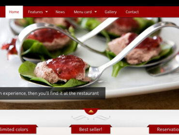 Theme WordPress : 15 Templates pour votre site de restaurant