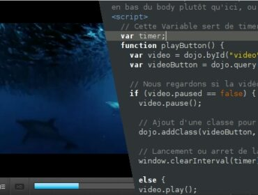 Comment intégrer un player video HTML5 – partie Javascript