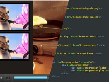 Comment intégrer un player video HTML5 – partie HTML/CSS