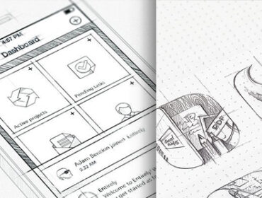 Inspiration Mobile #16 : Croquis et Wireframes