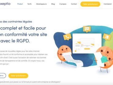 Consentement RGPD : on a testé Axeptio